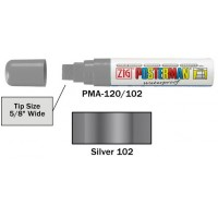 Broad Tip 15mm - SILVER